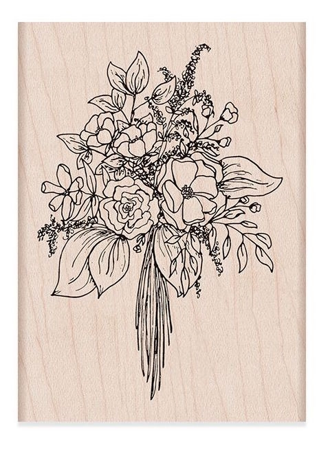 Hero Arts Rubber Stamp BOUQUET K6278* zoom image