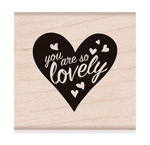 Hero Arts Rubber Stamp YOU ARE SO LOVELY D6275* zoom image