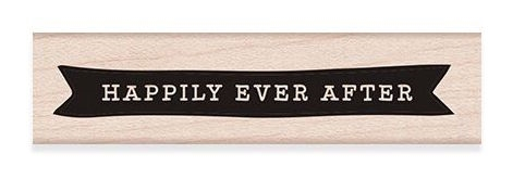 Hero Arts Rubber Stamp HAPPILY EVER AFTER C6277* Preview Image