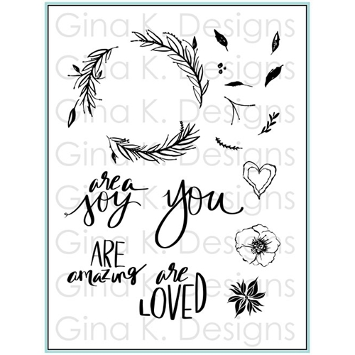 Gina K Designs YOU ARE Clear Stamps 5577 Preview Image