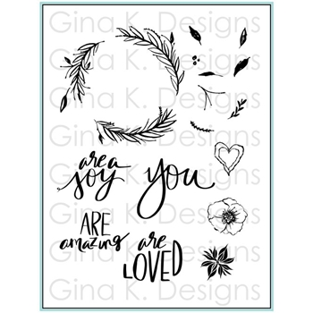 Gina K Designs YOU ARE Clear Stamps 5577