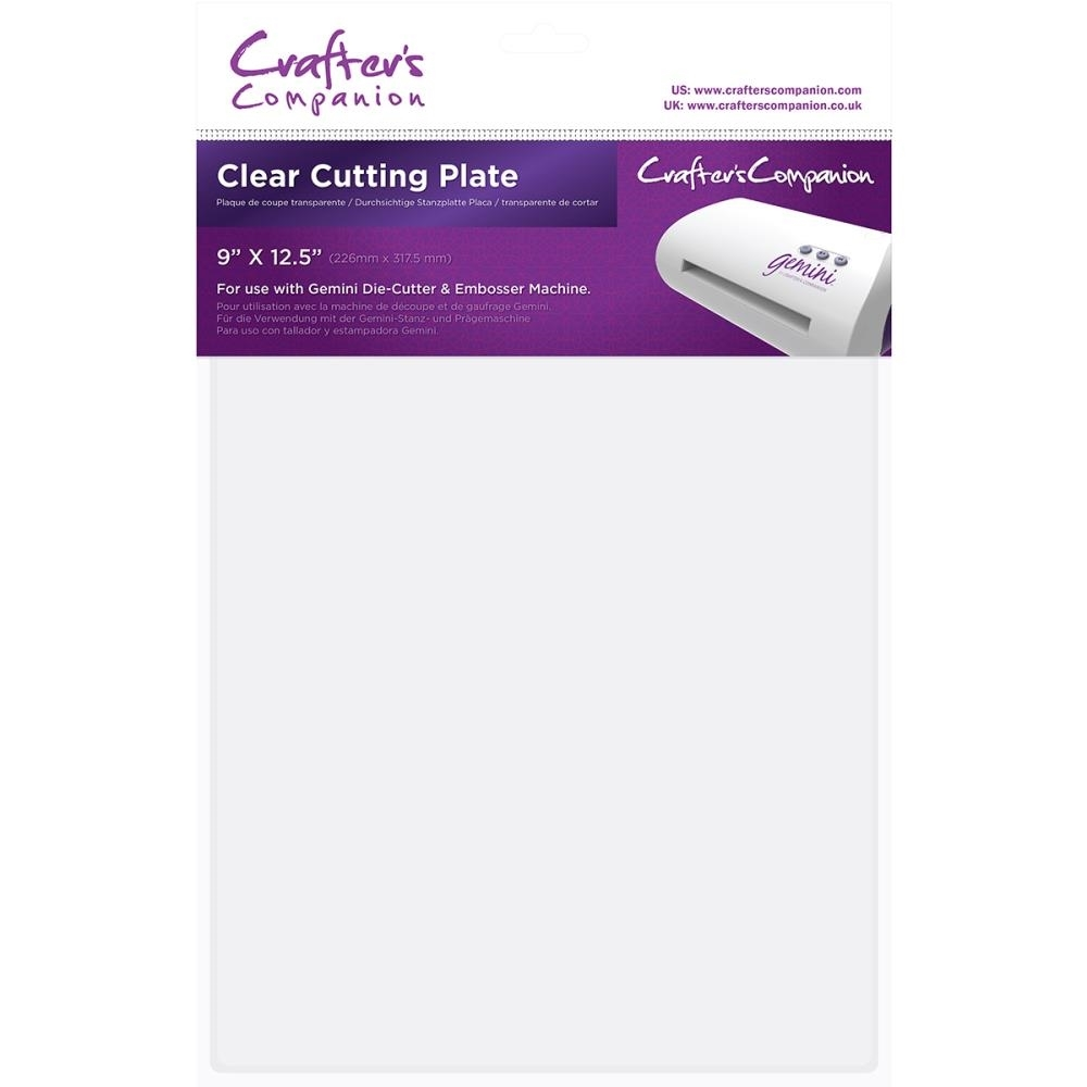 Crafter's Companion 9 x 12.5 CLEAR CUTTING PLATE Gemini gem-acc-clep zoom image