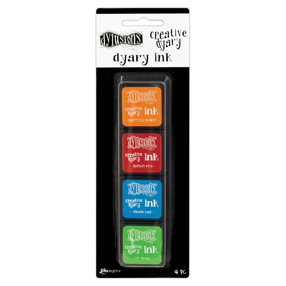 Ranger Dylusions CREATIVE DYARY INK PADS SET 2 Dyan Reaveley dye59158 zoom image