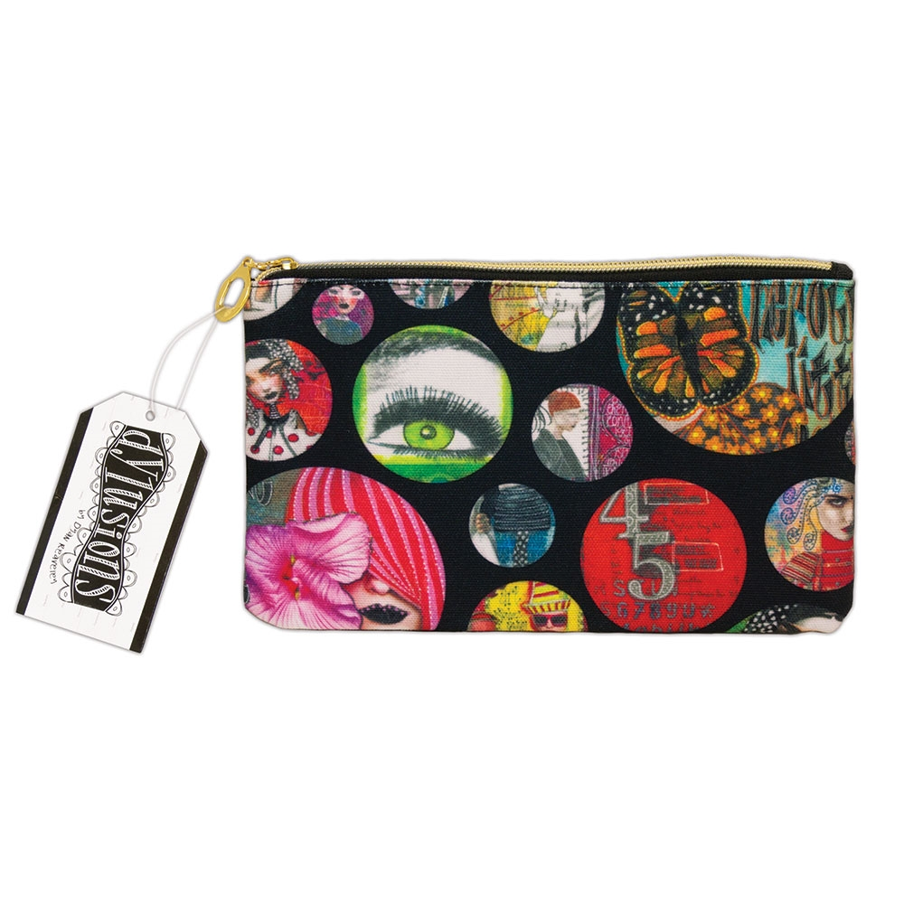 Ranger Dylusions CREATIVE DYARY ACCESSORY BAG Dyan Reaveley dye61120 zoom image