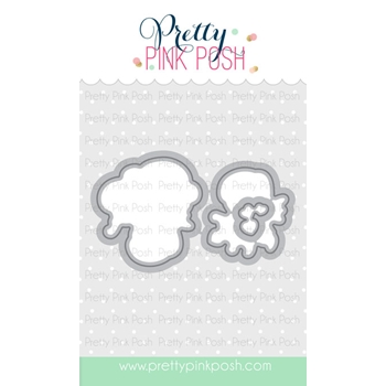 Pretty Pink Posh CUPID FRIENDS DIE Set