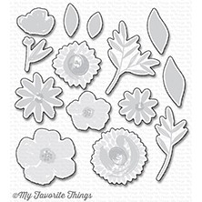 My Favorite Things BRUSHSTROKE BLOOMS Die-Namics MFT1234