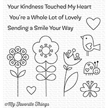 My Favorite Things SENDING A SMILE Clear Stamps CS264 zoom image