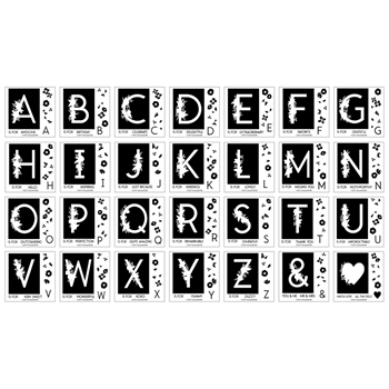 Concord & 9th MONOGRAM COLLECTION Clear Stamp Set 10350
