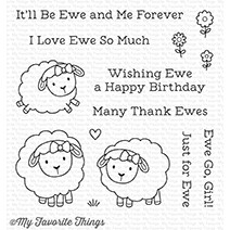 My Favorite Things Ewe and Me Forever Clear Stamp Set