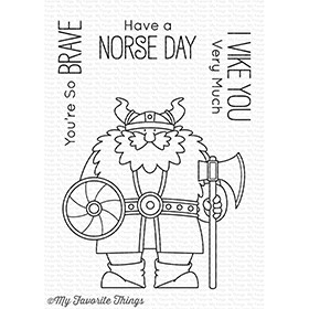 My Favorite Things VIKING Clear Stamps BB54