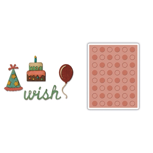 Tim Holtz Birthdays Side-Kick Side Order