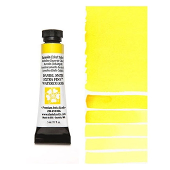 Daniel Smith AUREOLIN COBALT YELLOW 5ML Extra Fine Watercolor 284610006