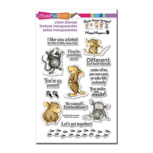 Stampendous Clear Stamps SO SWEET House Mouse sscm5004 Preview Image