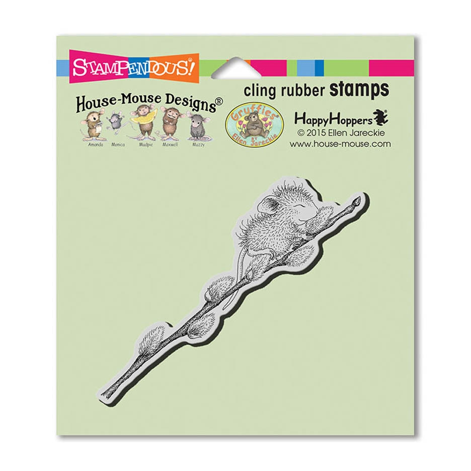 Stampendous Cling Stamp WILLOW CLIMB Rubber UM hmcn01 House Mouse zoom image