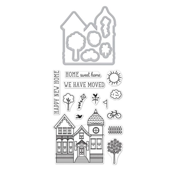 Hero Arts Stamp and Cuts HOUSE Set DC225