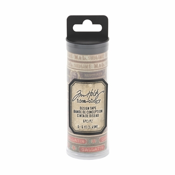 Tim Holtz Idea-ology HUMIDOR Design Tape th93675
