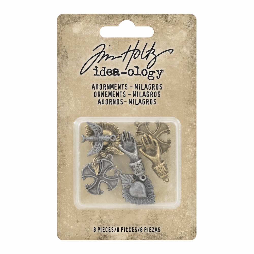 Tim Holtz Idea-ology MILAGROS Adornments th93676 zoom image