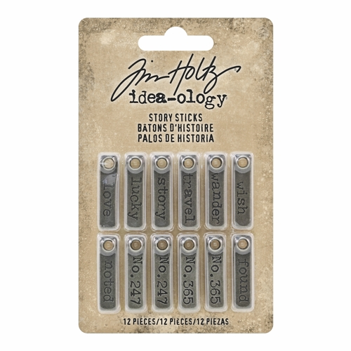 Tim Holtz Idea-ology STORY STICKS th93680 Preview Image