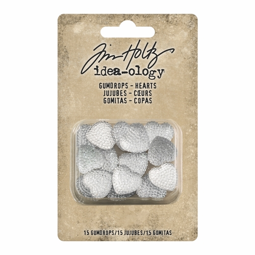 Tim Holtz Idea-ology GUMDROP HEARTS th93681 Preview Image