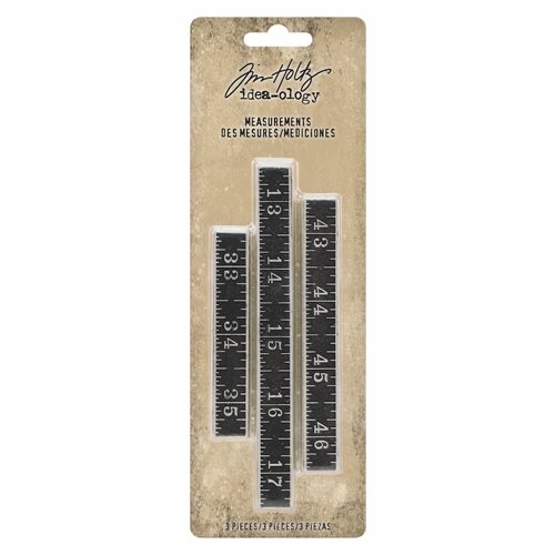 Tim Holtz Idea-ology MEASUREMENTS th93682 Preview Image