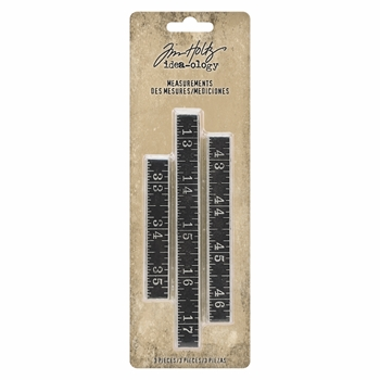 Tim Holtz Idea-ology MEASUREMENTS th93682