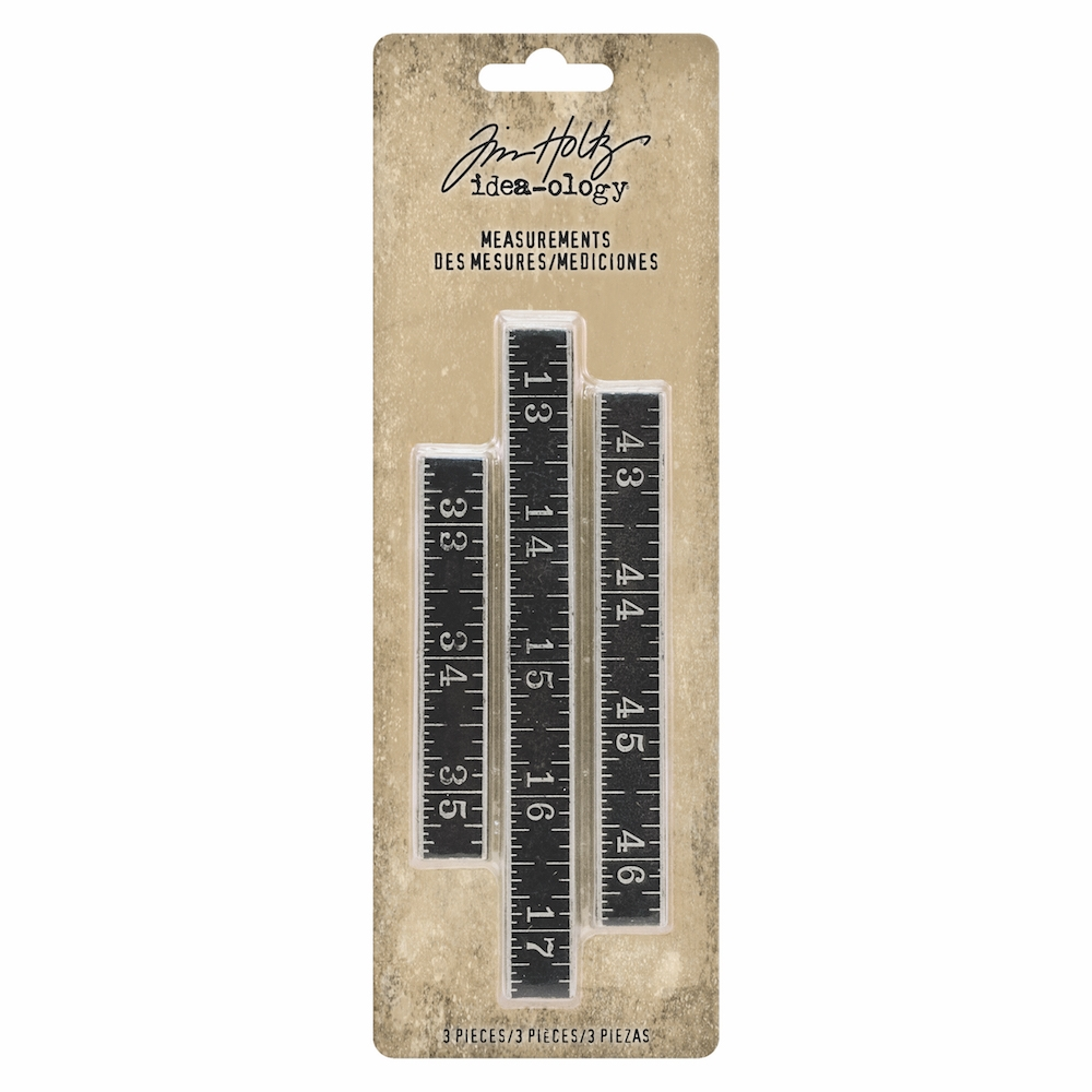 Tim Holtz Idea-ology MEASUREMENTS th93682 zoom image