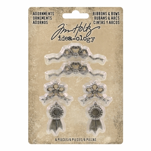 RESERVE Tim Holtz Idea-ology RIBBONS & BOWS Adornments th93686 Preview Image