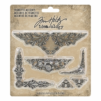RESERVE Tim Holtz Idea-ology VIGNETTE ACCENTS th93687