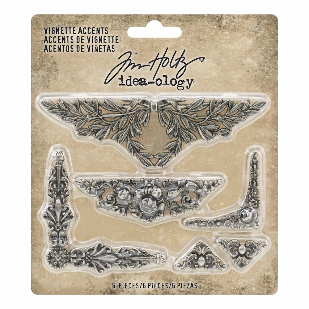 Tim Holtz Idea-ology VIGNETTE ACCENTS th93687 zoom image