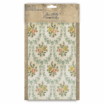 RESERVE Tim Holtz Idea-ology WORN WALLPAPER th93692