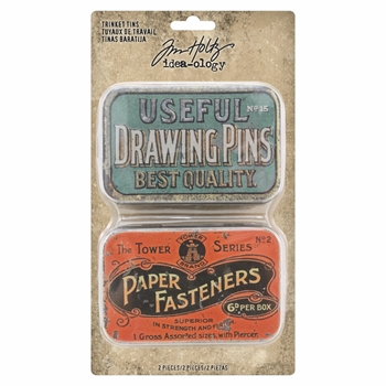 RESERVE Tim Holtz Idea-ology TRINKET TINS th93698