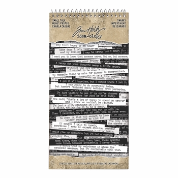 RESERVE Tim Holtz Idea-ology SNARKY Small Talk Stickers th93704