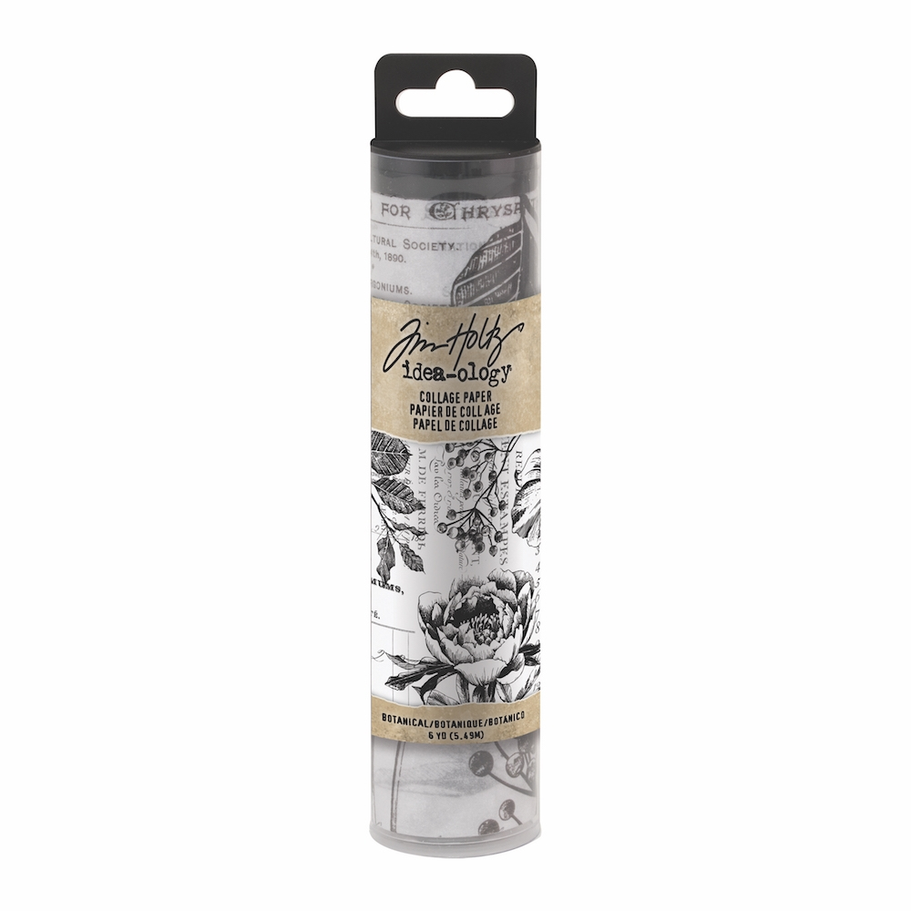 Tim Holtz Idea-ology BOTANICAL Collage Paper th93705 zoom image
