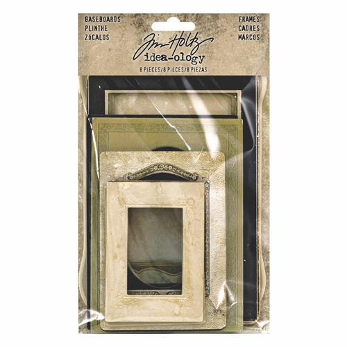 Tim Holtz Idea-ology BASEBOARD FRAMES th93710 Preview Image