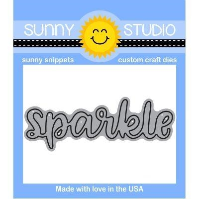 Sunny Studio SPARKLE WORD Snippets Die SunnySS-807 Preview Image