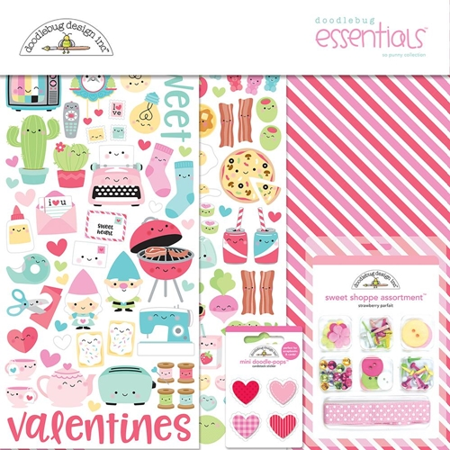 Doodlebug SO PUNNY Collection Essentials Kit 6003 Preview Image
