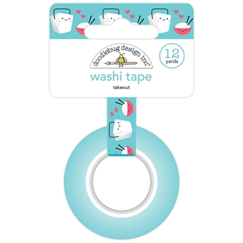 Doodlebug TAKEOUT Washi Tape So Punny 5883