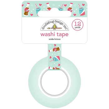 Doodlebug SODA-LICIOUS Washi Tape So Punny 5885