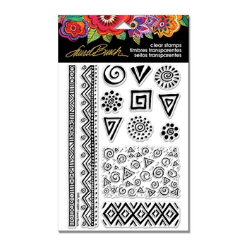 Stampendous Clear Stamps ICONS Laurel Burch sscl107