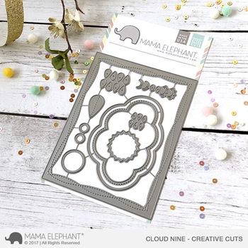 Mama Elephant CLOUD NINE Creative Cuts Die Set