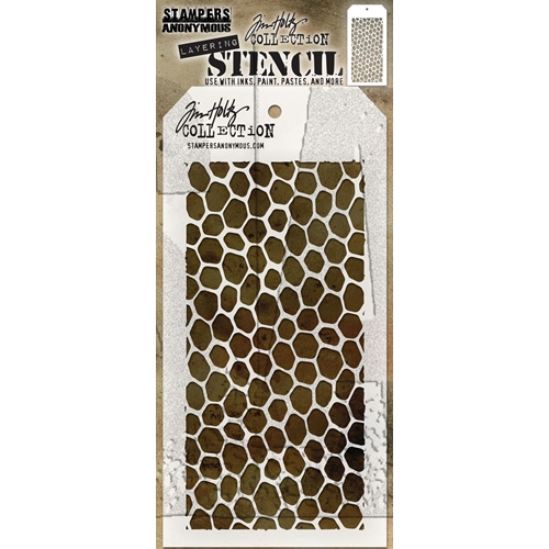 Tim Holtz Layering Stencil HIVE THS105 Preview Image