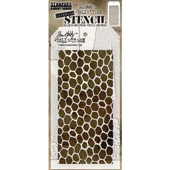 RESERVE Tim Holtz Layering Stencil HIVE THS105