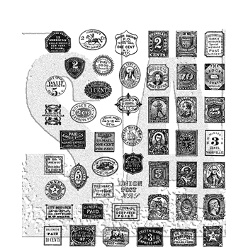 Tim Holtz Cling Rubber Stamps 2018 STAMP COLLECTOR CMS338