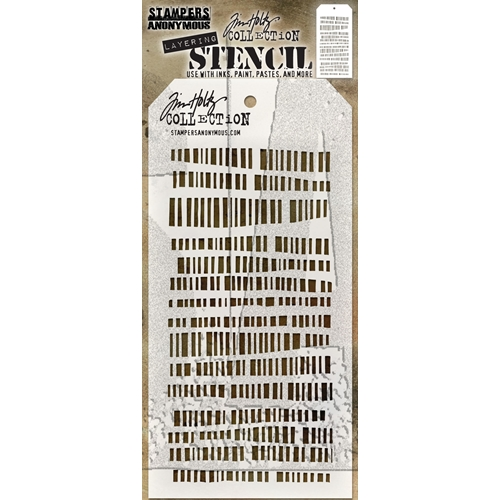 Tim Holtz Layering Stencil CODE THS102 Preview Image