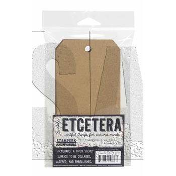 Tim Holtz Etcetera #8 TAG CHIPBOARD ETC005