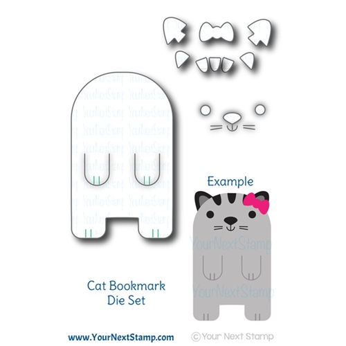 Your Next Die CUTE CAT BOOKMARK ynsd699 Preview Image