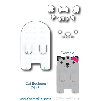 Your Next Die CUTE CAT BOOKMARK ynsd699