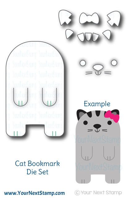 Your Next Die CUTE CAT BOOKMARK ynsd699 zoom image