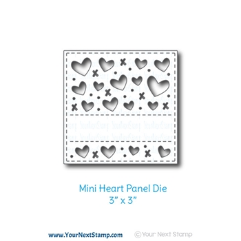 Your Next Die MINI HEART PANEL ynsd698