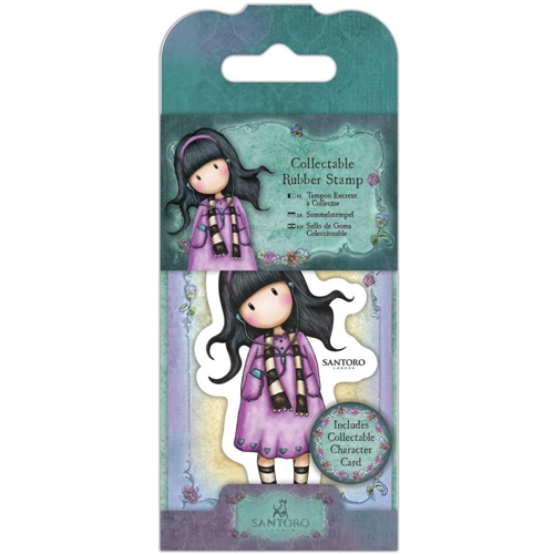 DoCrafts LITTLE SONG Mini Cling Stamp Gorjuss go907403 Preview Image